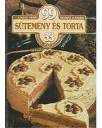 99 sütemény és torta 33 színes ételfotóval - Hemző Károly, Lajos Mari