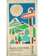 A Budai-hegység turistatérképe