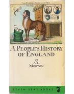A People's History of England - A. L. Morton