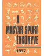 A magyar sport évkönyve 1977 - Sass Tibor