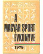 A magyar sport évkönyve 1978 - Sass Tibor