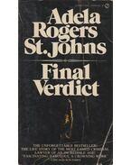 Final Verdict - Adela Rogers St. Johns