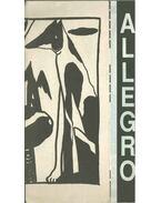Allegro '93. október (dedikált) - Adorján Péter, Kardkovács Réka, Márton Kriszta, Aczél Eszter