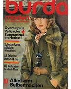 Burda Moden 1975/10 Oktober - Aenne Burda (szerk.)