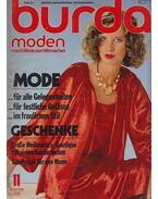 Burda moden 1978/11 - Aenne Burda (szerk.)
