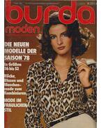 Burda moden 1978/1 - Aenne Burda (szerk.)