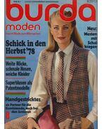 Burda moden 1978/8 - Aenne Burda (szerk.)