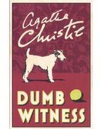 Dumb witness - Agatha Christie