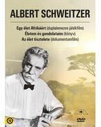 Albert Schweitzer díszdoboz (könyv játékfilm és dokumentumfilm melléklettel) - Albert Schweitzer