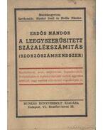A leegyszerűsített százalékszámítás - Erdős Nándor