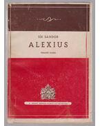 Alexius (dedikált) - Sík Sándor