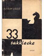 33 sakklecke - Alföldy László