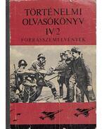 Történelmi olvasókönyv IV/2. - Almási János