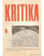 Kritika 1971. június 6. szám - Almási Miklós és Diószegi András és Wéber Antal (szerk.)
