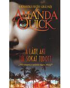 A lány aki túl sokat tudott - Amanda Quick