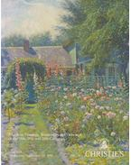 American Paintings, Watercolors and Drawings of the 18th, 19th and 20th Centuries