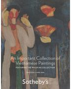 An Important Collection of Vietnames Paintings