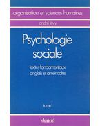 Psychologie sociale I. - André Lévy