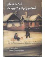 Anekdoták és egyéb feljegyzések - Tóth Tibor