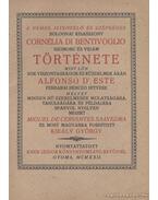 A nemes, istenfélő és szépséges bolognai kisasszony Cornélia di Bentivoglio szomoru és vidám története (reprint) - Cervantes Saavedra, Miguel de
