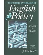 The Oxford Anthology of English Poetry vol. 1 - John Wain