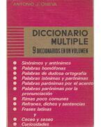 Diccionario Multiple - Antonio J. Onieva