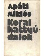 Korai hattyúdalok - Apáti Miklós