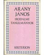 Irodalmi tanulmányok - Arany János
