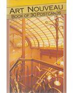 Art Nouveau - Book of 30 Postcards