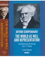 The World as Will and Representation I-II - Arthur Schopenhauer