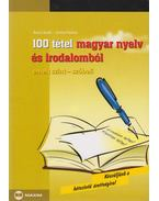 100 tétel magyar nyelv és irodalomból - Árva László, Simon Ferenc
