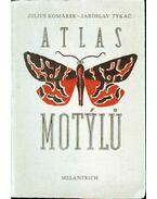 Atlas Motylu - Komárek, Julius, Tykac, Jaroslav