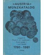 Austria Münzkatalog 1790-1981