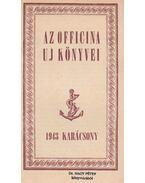 Az Officina Uj Könyvei 1943 Karácsony