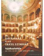 Az Operaház és az Erkel színház tájékoztatója az 1975-76-os évad bérleteiről