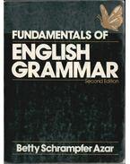 Fundamentals of English Grammar - Azar, Betty Schrampfer
