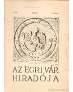 Az Egri Vár híradója 1960. július 1. szám - Szabó János Győző