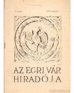 Az Egri Vár híradója 1961. január 2. szám - Szabó János Győző