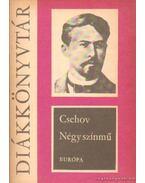 Négy színmű - Anton Csehov