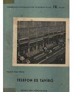 Telefon és távíró - Valkó Iván Péter