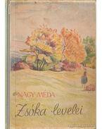 Zsóka levelei - Nagy Méda