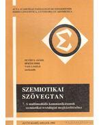 Szemiotikai szövegtan 7. - Békési Imre, Petőfi S. János, Vass László