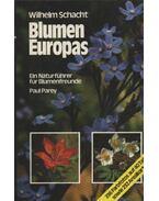 Blumen Europas - Schacht, Wilhelm