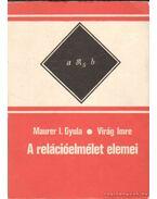 A reláció elemei - Maurer I. Gyula, Virág Imre