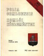 Komlói közlemények 1991. 4. - Fazekas Imre