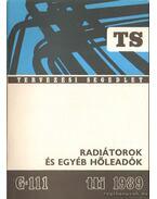 Radiátorok és egyéb hőleadók - Horváth Lászlóné