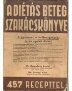 A diétás beteg szakácskönyve I. kötet - Dr. Rosenberg László