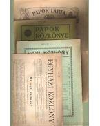 Egyházi újságok (4 db) - Giesswein Sándor dr.- Hivatal József, Fonyó Pál Gyula, Czapik Gyula dr.