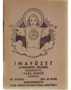 Imafüzet gyermekek részére - Vass János