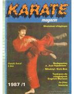 Karate magazin 1987/1. - Szabó Julianna